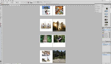 layout indesign album how to get your family photos into an album