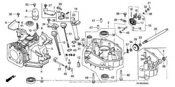 honda engines gxv160 n62 engine jpn vin gj03 1000001 to gj03 1366578 parts diagram for cylinder