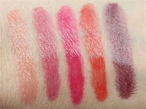 Benefit Hopelessly Devoted To Pink by Mac Patentpolish Lip Pencil Swatches And Review Vy