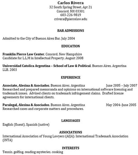 Sample Law Student Resume by Best Photos Of Nyls Law Student Resume Sample Law