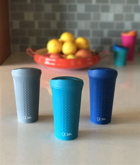 Divider Cup Silicone Cup 1 silicone to go coffee cup