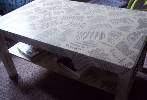 Decoupage End Table - shakespeare decoupage coffee table 183 how to make a table