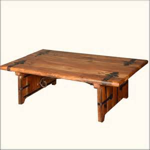 Home rustic reclaimed wood amp wrought iron hastings coffee table