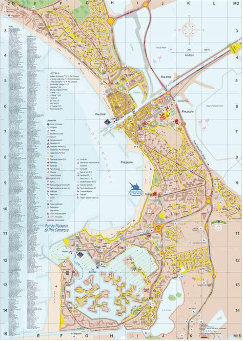 plan d 233 taill 233 du grau du roi port camargue centre ville