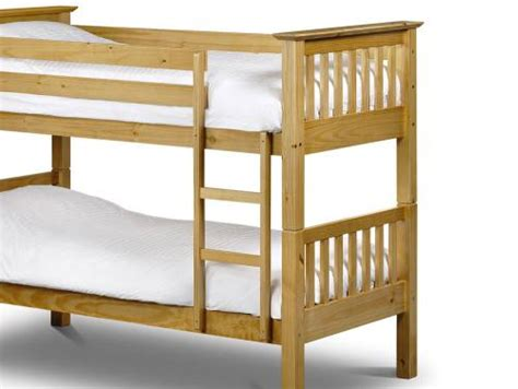 Julian Bowen Barcelona Bunk Bed Julian Bowen Barcelona Childrens Pine Bunk Bed With Premier Mattresses Underbed Drawers