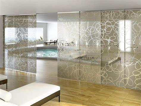 tende separa ambienti pareti di luce per separare gli ambienti con il vetro
