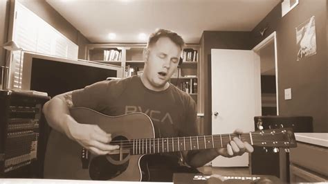 thrice acoustic black honey thrice solo acoustic cover by nick fontaine