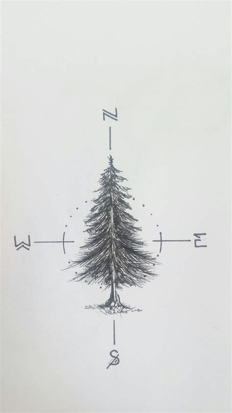 fir tree tattoo 17 best ideas about trees on wolf
