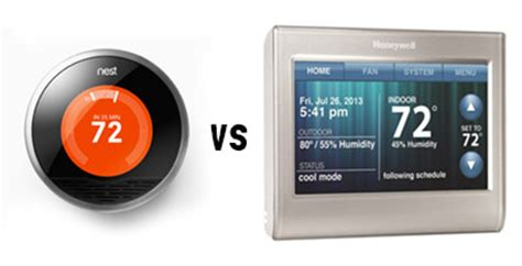 nest thermostat temperature swing nest vs honeywell wi fi rth9580wf comparison chart