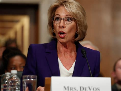 betsy devos articles betsy devos appears to have plagiarized quotes for senate