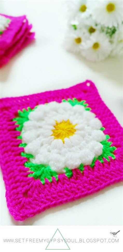 pattern crochet squares set free my gypsy soul a crochet craft blog daisy