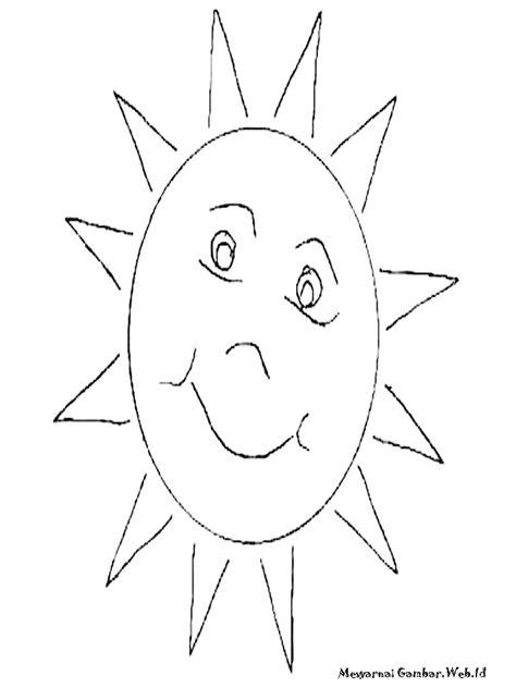 Mewarnai Gambar Matahari | Mewarnai Gambar