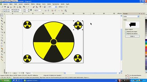 youtube tutorial corel draw x4 tutorial simbolo nuclear corel draw x4 pt br youtube