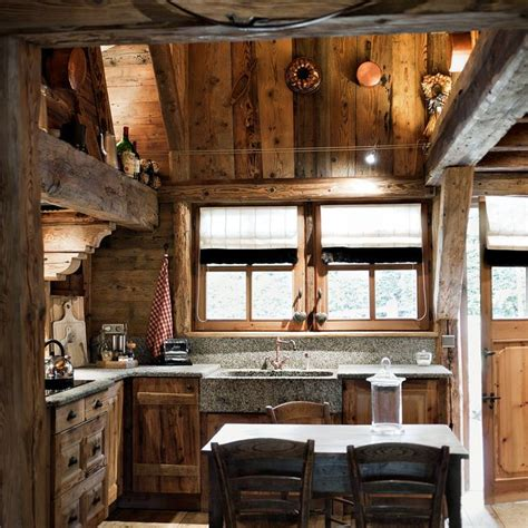 Rustique Interiors by 40 Cozy Chalet Kitchen Designs To Get Inspired Digsdigs