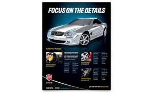 auto detailing flyer template auto detailing flyer template word publisher