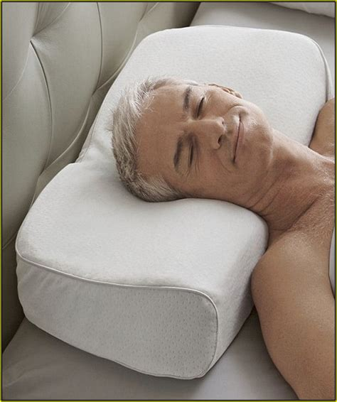 pillows for side sleepers neck ikstar contour memory