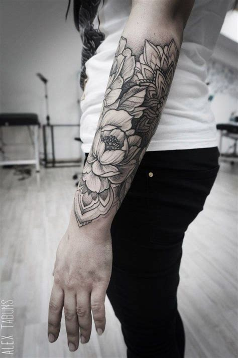 flower tattoo sleeve arm flowers sleeve tattoos