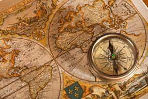 us map and compass oxymoronocean on