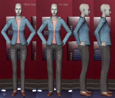 Jaket Evil Geniuses mod the sims updated 07 17 2010 better for default replacements for tf af yf