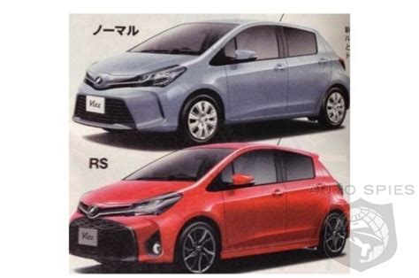 next gen toyota yaris images leak out is this a move in
