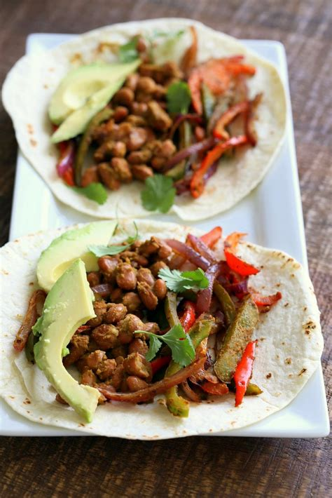 Wonderful Fajitas Recipe #2: Bean-fajias-with-cilantro-lime-marinade-1974.jpg