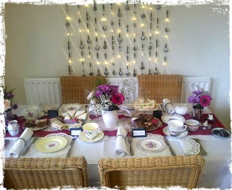 how to decorate a table for a tea party vintage tea party decorations www pixshark com images