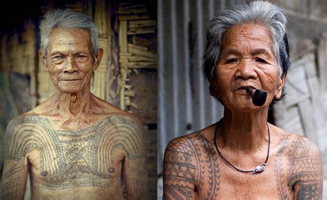 Tato Orang Dayak | mengenal tato suku dayak kalimantan indonesia