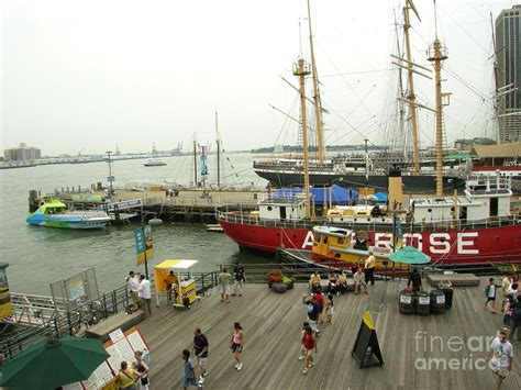 nyc boat tours south street seaport south street seaport n y c digital art by anthony morretta