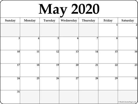 blank calendar templates