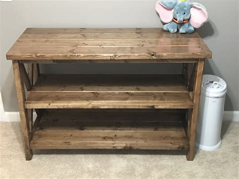 baby changing table plans free baby changing table woodworking plans