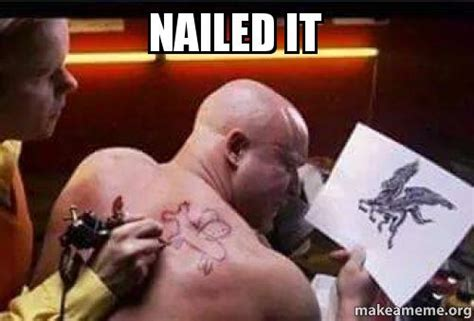 Nailed It Meme - nailed it make a meme
