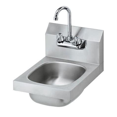 wall mount hand sink krowne hs 9l wall mount commercial hand sink w 9 75 quot l x