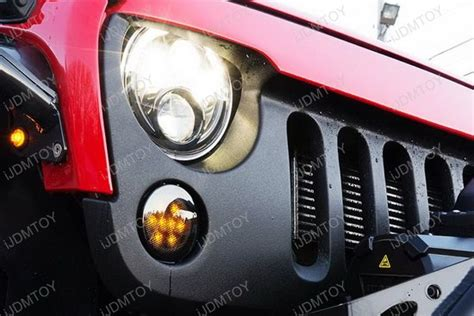 jeep wrangler running lights led daytime running lights turn signals for jeep wrangler jk