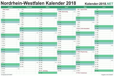 Kalender 2018 Zum Ausdrucken Ferien Bayern Kalender 2018 Nordrhein Westfalen