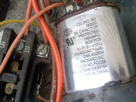 home ac capacitor troubleshooting ac unit capacitor