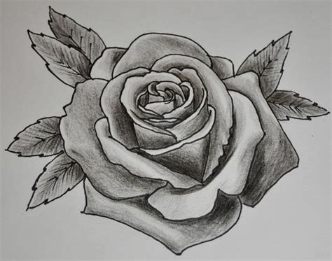 grey shaded rose tattoo black and grey shaded tattoos fantastic