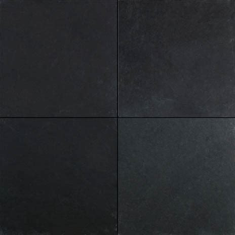 Black slate tile contemporary wall and floor tile dallas