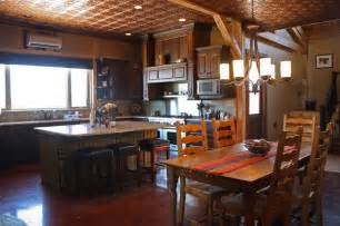 Texas rustic barn home living rustic kitchen other metro by