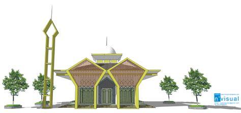 desain pagar masjid desain masjid minimalis 171 sketch s blog