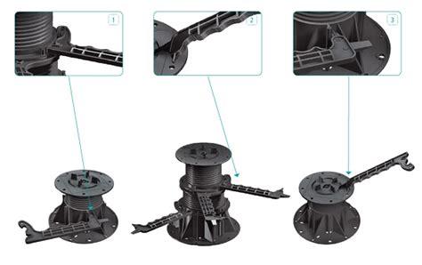 supporti per pavimenti galleggianti esterni supporto per pavimenti sopraelevati