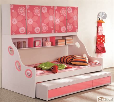 kids storage bed pink girl kids beds with storage home interiors
