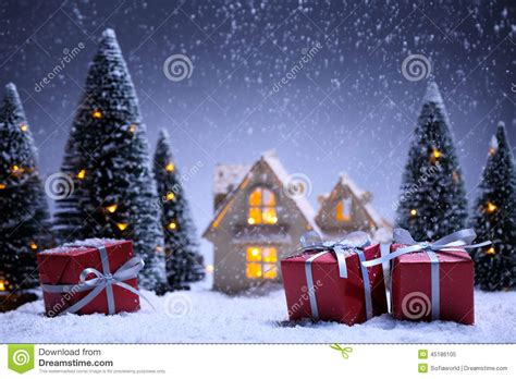 christmas concept stock illustration image of night