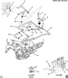 buick rendezvous heater hose diagram autos post