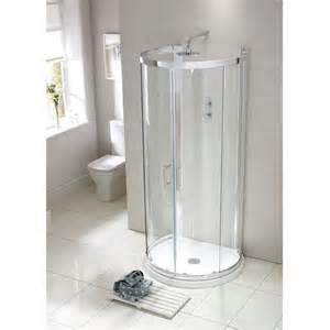 aquaglass single wall d shaped quadrant shower enclosure