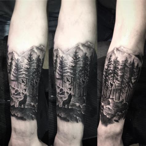 forest tattoo about forest proyectos que debo intentar