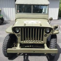 Mb Jeep 1943 Willys Mb Jeep For Sale Photos Technical