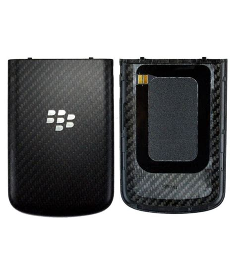Sparepart Blackberry Q10 fabcase back replacement panel for blackberry q10 black mobile spare parts at low