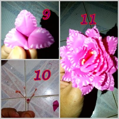 cara membuat bunga dari kertas plastik kresek kreasi bunga cantik membuat bunga dari plastik