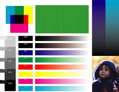 color test color laser test page vitlt com