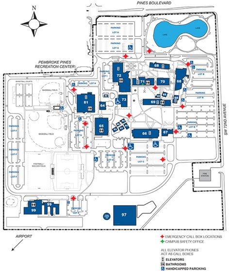 south college map disability services